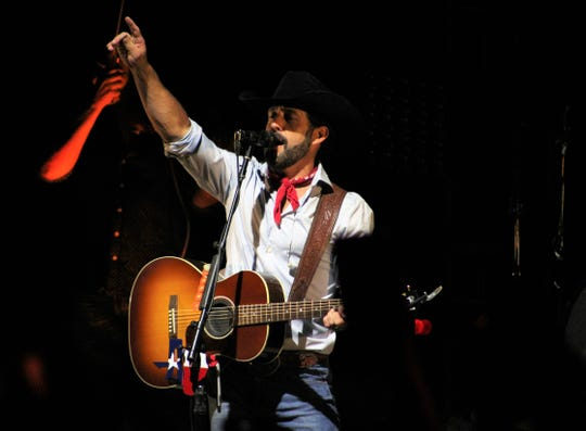 "A week after debuting his ""Red Bandana"" album in Abilene, Aaron Watson took his show on the road for a post-Fourth of July festival in Big Lake. July 6, 2019"