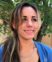 McKenzie Fergus, recently back in Abilene for visit.