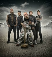 Five Finger Death Punch returns to Southwest Florida for a Saturday show at Hertz Arena.