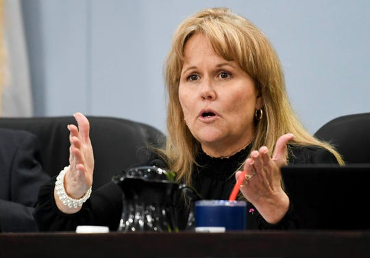 "Brevard County Commissioner Rita Pritchett advised commissioners and members of the public to ""quit doing politics on Facebook. You never win, and you just get set up to get taken out."""