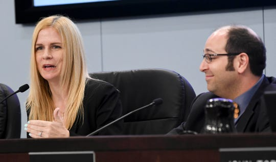County Commissioner Kristine Isnardi supports County Commission Chair Bryan Lober's proposal related changes in use of the county's Tourist Development Tax.