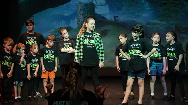"""Shrek The Musical Junior"" performed by The Viera Studio for the Performing Arts will have two shows, 2 p.m. and 7 p.m. on July 14."