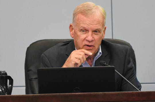 "Brevard County Commissioner Curt Smith said Vice Chair Bryan Lober is ""short-tempered,"" has ""a very short fuse, and you really, really let people get under your skin."""