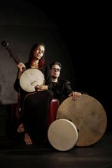 Rhiannon Giddens and Francesco Turrisi play a show at the Flynn Center on Sept. 29.