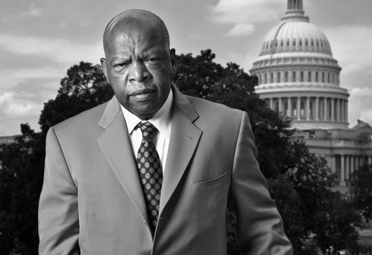 "U.S. Rep. John Lewis of Georgia will be at the Flynn Center to talk about his book ""March"" on Oct. 7."