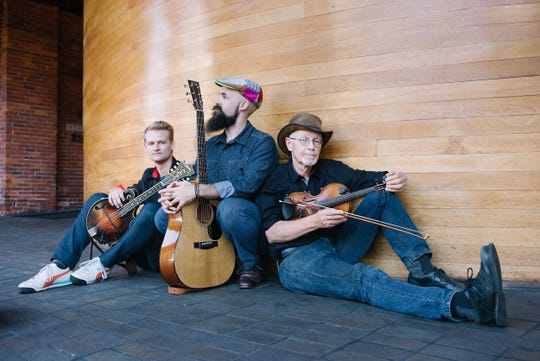 Pete's Posse performs July 21 at the Old West Church in Calais.