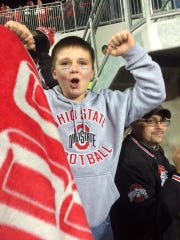 Luke Lewis was the first dream recipient when the Southeastern Ohio chapter started in 2015. He wanted his room to be redecorated to show his love of Ohio State Football.