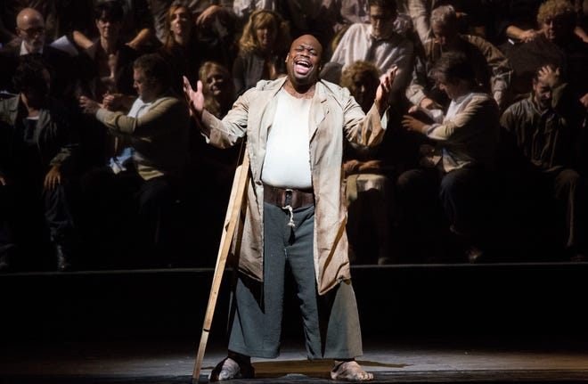 After avoiding the role of Porgy for nearly 20 years, bass Morris Robinson made his debut in the role at the famed Teatro alla Scala in Milan, Italy in 2016. He will perform the same with Cincinnati Opera July 20-28 at Music Hall.