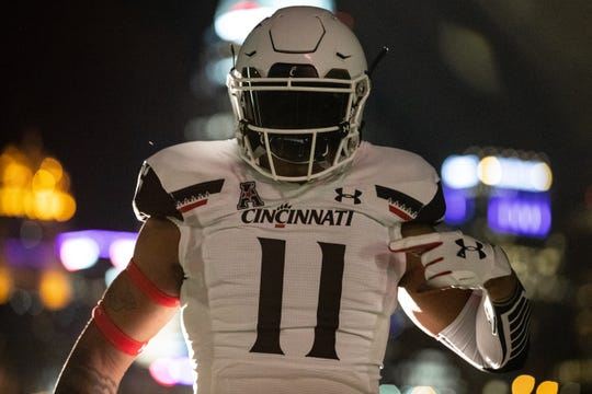 Cincinnati Bearcats unveiled new Under Armour football uniforms on Wednesday, July 10, 2019