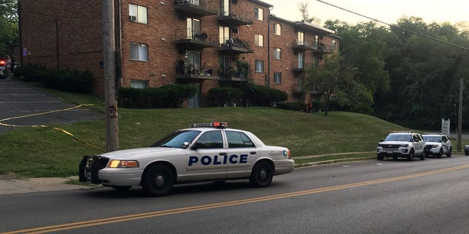 Cincinnati police responded late Tuesday to a fatal shooting in West Price Hill.