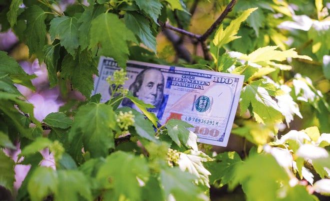 Money will be hidden around Cincinnati on Thursday.