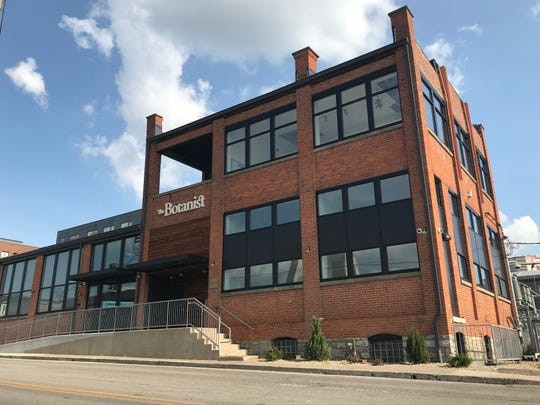 The Botanist dispensary at 115 Vine Street in Columbus. Greenleaf Apothecaries, which is licensed to operate five dispensaries, says it could open the Columbus location within 48 hours of receiving approval from state regulators.