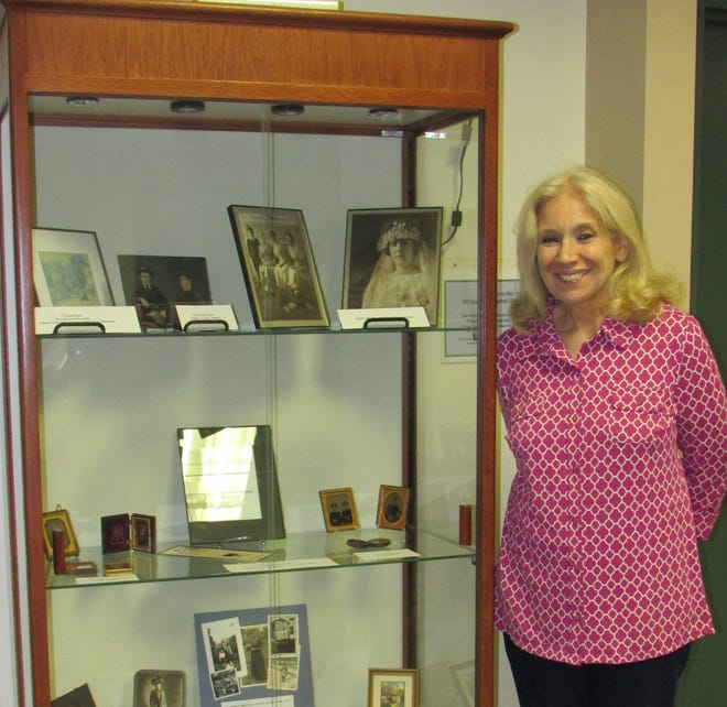 Sara Parmigiani, museum curator,The Fleetwood Museum of Art and Photographica in North Plainfield.