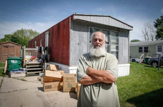 Al Warren fears becoming homeless if he cannot satisfy the new owners of an Indianola mobile home park, who are requesting his home undergo costly repairs or be removed.