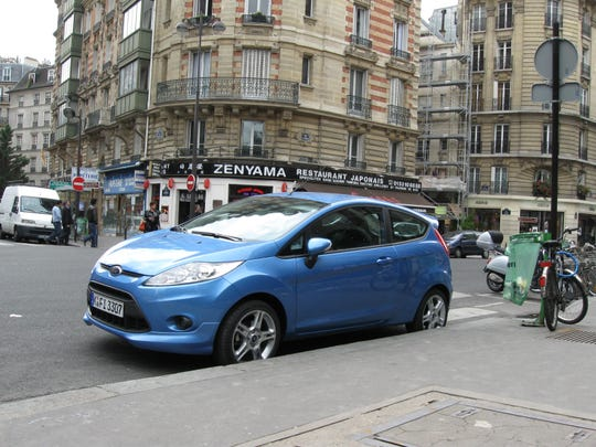 In 2008, Ford touted the European-engineered Ford Fiesta fuel-efficient dual-clutch automatic transmission when the subcompact car debuted at the Paris auto show.