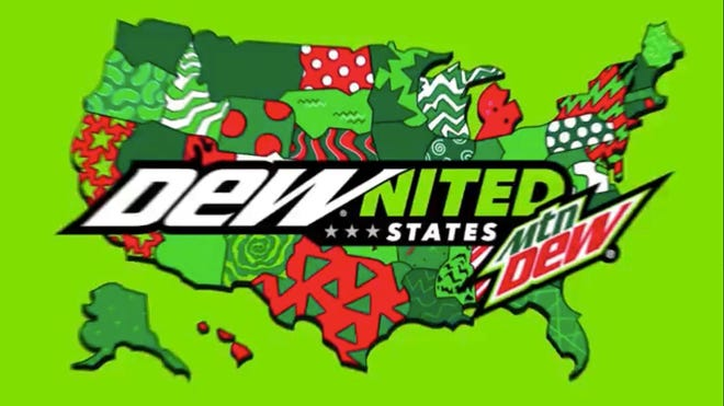 This new Mountain Dew promotion merged Wisconsin and the Michigan Upper Peninsula.