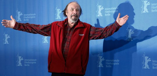 """Actor Rip Torn during a photo call for the competition movie """"Happy Tears,"""" at the Berlinale in Berlin."""