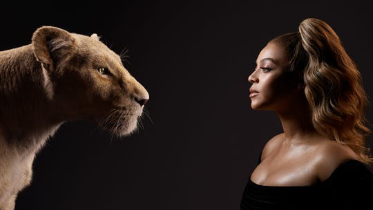 Beyoncé voices Nala in the film that comes out on July 18.