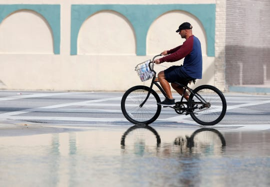 Federal scientists, according to a report released Wednesday, July 10, 2019,  predict 40 places in the U.S. will experience higher than normal rates of so-called sunny day flooding this year due to rising sea levels and an abnormal El Nino weather system.