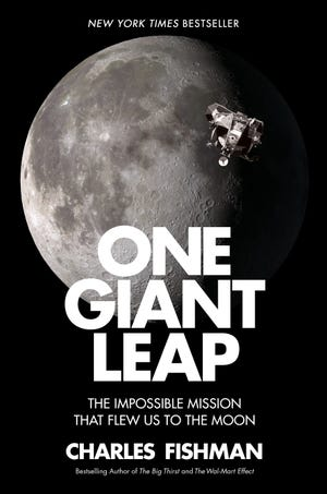 """Simon & Schuster is releasing Charles Fishman's """"One Giant Leap,"""" about the moon race, July 11."""