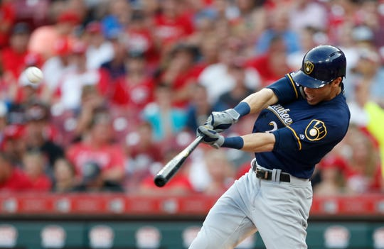 Christian Yelich is the MLB leader in home runs with 31.