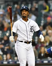 Tigers' Niko Goodrum has been diagnosed with an adductor strain, which will sideline him for at least two weeks.