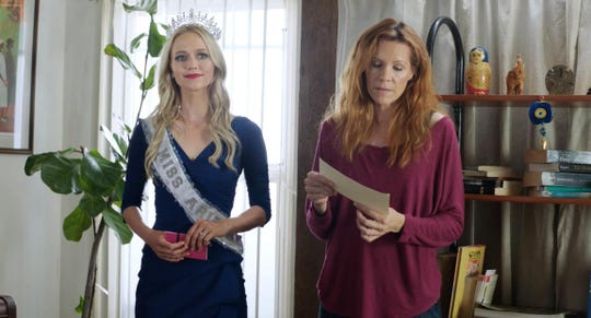 "Johanna Braddy and Robyn Lively in ""Miss Arizona."""