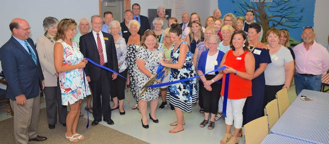 A ribbon cutting was held to celebrate the grand opening of the Ottawa County Family Advocacy Center.