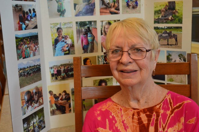 From her home in Clyde, Vicki Kritzell helped founded Hearth to Hearth Ministries which has aided hundreds of African orphans, widows, and people in need of free medical care.