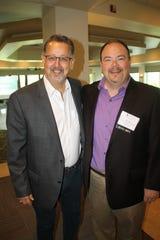 Jorge Acevedo, left, and Wes Olds