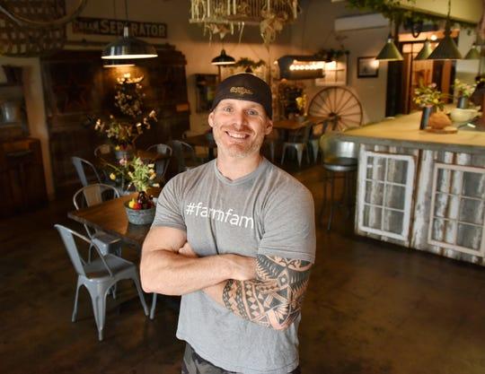 Jonathan Willis, owner of Farm Fresh Fast