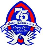 Guam 75th logo