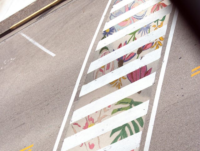 Check Out The Design For Crosswalk Art Project In Downtown