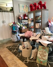 The Shop Around The Corner in Madison stocks an assortment of gifts for babies.