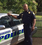 Torrence Mayfield when he was Edwards Police Chief.