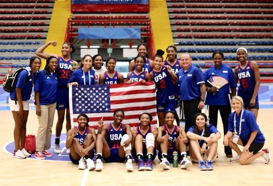 The Mississippi State women's basketball team represented USA at the 2019 World University Games and earned a silver medal.