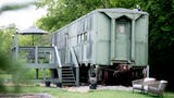 Dean Smith's WWII train car Airbnb is one of the most in-demand locations in the Knoxville area.