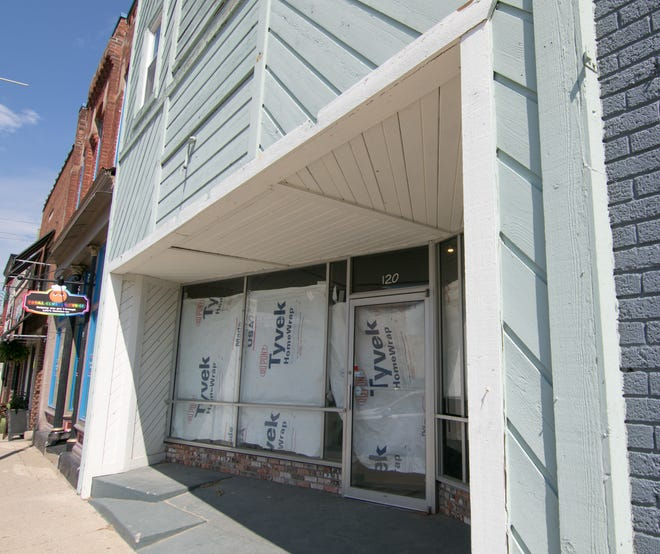 A Sidecar Slider Bar is planned for this storefront on Brighton's Main Street, shown Wednesday, July 10, 2019.