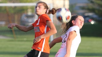 Brighton's Mia Hansen talks about playing defense and her college choice.