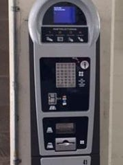 Parking kiosks installed inside the Grand River Avenue parking ramp allow motorists to receive text alerts when their meters run low, as well as enabling them to add money through their cell phones.