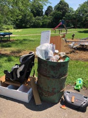 Illegal dumping of household trash has been a noxious problem as of late for the parks and recreation department.