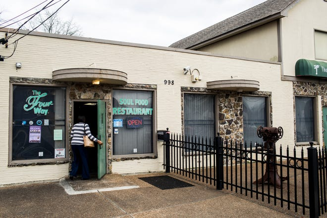 The Four Way is a soul food restaurant that has been located in the Soulsville neighborhood since 1946.