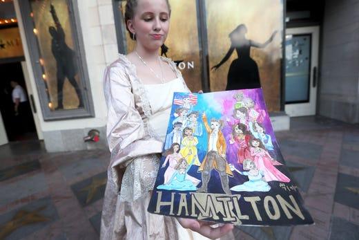 Hamilton' in Memphis: Broadway hit opens to near capacity