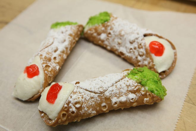 Festa Italiana will again have its cannoli-eating contest this year during the festival, July 19-21 at the lakefront. Festival-goers can buy cannoli (and much more) to eat noncompetitively, too.