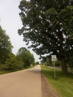 The Town of Lisbon's Oakwood Road may have a 35 mph to 25 mph speed reduction if the town officials approve. The public safety committee recommended this change for the town officials to decide at its Aug. 12 meeting.