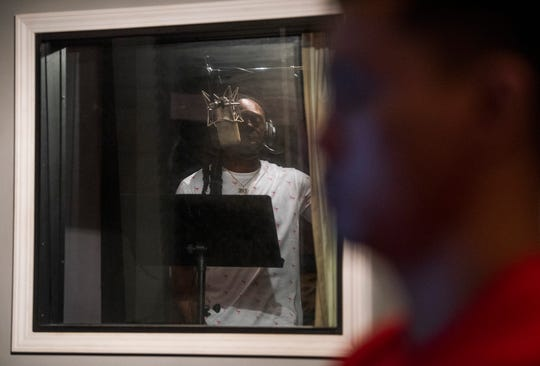 TheRealPIT is recorded in the Montgomery, Ala., studio of Bao Pham, the Montgomery rap engineer and producer on Wednesday July 10, 2019.