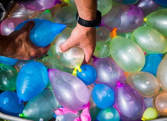 Water balloons.