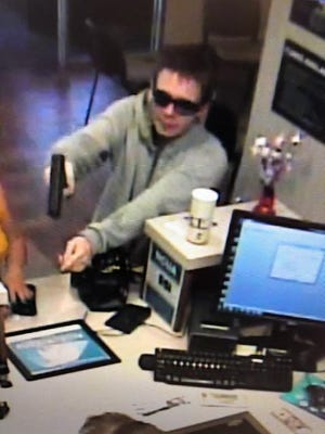 The Muncie Police Department released images of a suspect from the robbery on July 10 at the PrimeTrust Federal Credit Union. Anyone with information is asked to contact the Criminal Investigations Division at 765-747-4867.