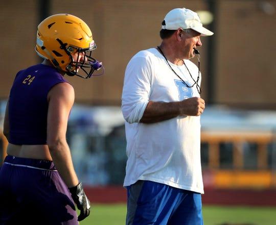 Rockvale coach Rick Rice
