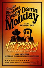 Charlie Worsham will play Basement East every Monday in July.